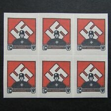 Germany Nazi 1939 1945 MINT Stamps Block Third Reich WWII German