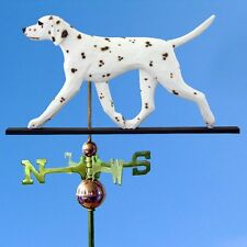 Dalmatian Hand Carved Hand Painted Basswood Weathervane Liver
