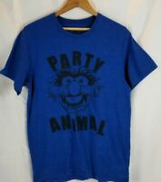 The Muppets T-shirt Sz Small Animal the Drummer Party Animal Disney Short Sleeve