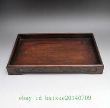 Gorgeous Antique Chinese rosewood Serving Tray d02