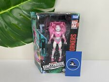 New In Box Transformers ARCEE Figure Earthrise War For Cybertron Takara Tomy