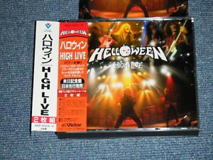 HELLOWEEN Japan 1996 NM 2-CD+Obi HIGH LIVE