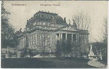 AK Wiesbaden - Königliches Theater (K877)