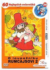 O Loupezniku Rumcajsovi 2 DVD Czech Well Known Cartoon