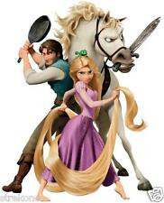 Walt Disney RAPUNZEL, Maximus Horse & Flynn Rider of TANGLED -WindoCling StickOn