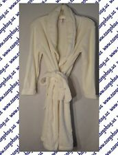 Womens Belted Spa Robe Plush Cream Tie Front Size XXL Free Shipping Plus Size