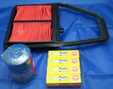 FOR HONDA CIVIC 1.6 / 1.6i EU8 2001-2006 3PC SERVICE KIT OIL AIR & SPARK PLUGS