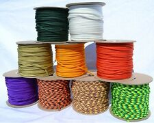 LIQUIDATING Wholesale 550 Paracord nylon 7 strand core 100ft 50ft 1000 ft spool