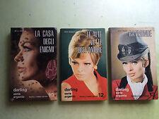 lotto 3 romanzi serie darling serie argento N° 10 - 12 - 13 fabbri editori 1970