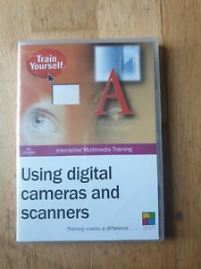 Using Digital Cameras and Scanners Train Yourself DVD New and Sealed