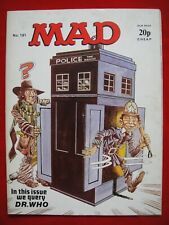MAD MAGAZINE #161 ~ SEP 1975 ~ DOCTOR WHO ~ SOUGHT AFTER ISSUE DON MARTIN HUMOUR