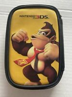 Nintendo 3DS Donkey Kong Game Travel Case pre-owned