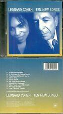 CD - LEONARD COHEN : TEN NEW SONGS / COMME NEUF - LIKE NEW