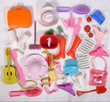 Vintage Lot Barbie Ken Sized Clone Accessories Boots Kitchen Hats Suitcase js 3