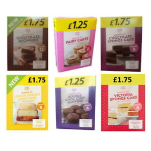 Happy Shopper Assorted Cake Home Baking Packet Mix (Pack of 2 Mixes)