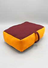 Handmade Monk Red Meditation Pillows-Yoga Props-Cushions