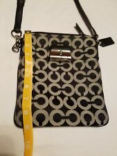 Coach Kristin Signature Graphic Op Art Swingpack Crossbody