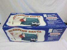Telco Motion-Ettes Christmas Snoring Whistling Animated Sleeping Santa