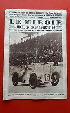 Le Miroir des Sports 379 du 5/07/1927