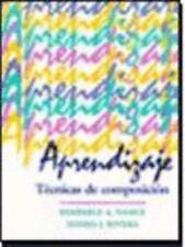 Aprendizaje: Tecnicas De Composicion Nance, Kimberly A. Paperback