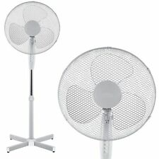 "16"" Pedestal Oscillation Stand Rotating 3 Speed Floor Cooling Fan Home Office"