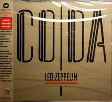 """LED ZEPPELIN""""CODA""""GOLD CD NIKITIN RUSSIA with OBI OUT OF PRINT SEALED"""