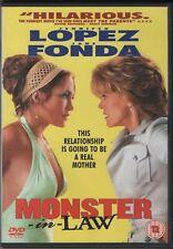 Monster-In-Law (DVD 2005) Jennifer Lopez Jane Fonda Hilarious Romantic Comedy