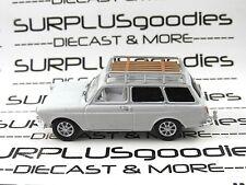 Greenlight 1:64 Scale LOOSE White 1968 VOLKSWAGEN VW Type 3 Squareback Wagon