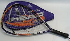 "Head Blast Xl Long String Racquetball Racquet and Soft Case 3 3/4"" Grip"