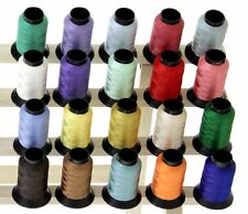 20 Spools COUNTRY COLORS Embroidery Machine Thread