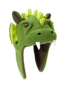 "GAP Baby / Toddler Boy NWT 12-24 Months XS / S Fleece Dragon Hat - 19"" Circ."