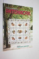 Magazine Les nouvelles du Patchwork n° 50 . L'appliqué Idées Noël