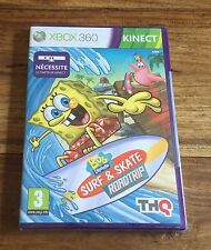 BOB L'ÉPONGE SURF & SKATE ROADTRIP Jeu Sur Xbox 360 Neuf Sous Blister VF
