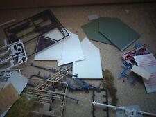 Lot de pièces détachées pour maquette décors réseau de train électrique HO et n