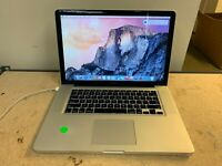 Apple Macbook A1286 i7-2635QM @ 2GHz 16GB 500GB 10.10 Installed (No PS) Webcam