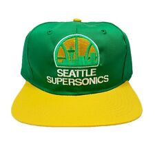 Vtg NWT Rare NBA Seattle Supersonics Snapback hat