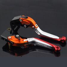For HONDA CBR600RR CBR1000RR Adjustable FoldingExtendableBrake Clutch Lever