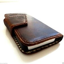 genuine real leather case for iphone 4s 4 cover book wallet stand holder Skin id