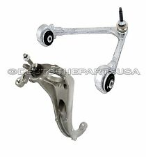 JAGUAR S TYPE UPPER & LOWER CONTROL ARM ARMS STEERING KNUCKLEw/BALL JOINTS KIT 2