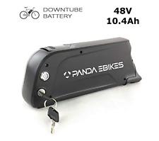 E-Bike frame Battery Conversion Kit 48V 10.4Ah 500Wh Samsung Cells, black