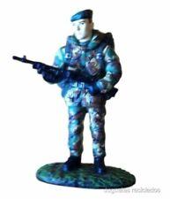 Royal Marine Commando UK tin Lead soldier Figure DelPrado
