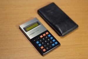 Vintage Hanimex LCD-8M calculator, Retro, Cool, Made in Japan, Rare color way.