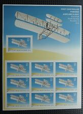 2003 Wright Brothers First Powered Flight Us Postage sheet #3783