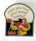 RARE PINS PIN'S .. MC DONALD'S RESTAURANT USA MUSIQUE GUITARE RONALD BREAK ~17