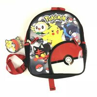 Pokemon Backpack Book Bag Pokeball Pichaku 12 in