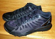 Nike Air Jordan Dominate Pro Golf Shoes Men's US 9 Black Blackout 707516-010 NEW