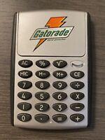 Gatorade Thirst Quencher Solar Powered Calculator with Gatorade Logo