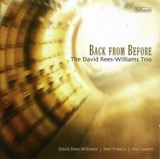 David ReesWilliams - Back from Before [CD]