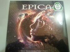 EPICA THE HOLOGRAPHIC PRINCIPLE DOPPIO VINILE LP CLEAR VINYL NUOVO SIGILLATO !