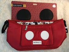 Disney Parks Mickey Mouse Stroller Organizer NWT
